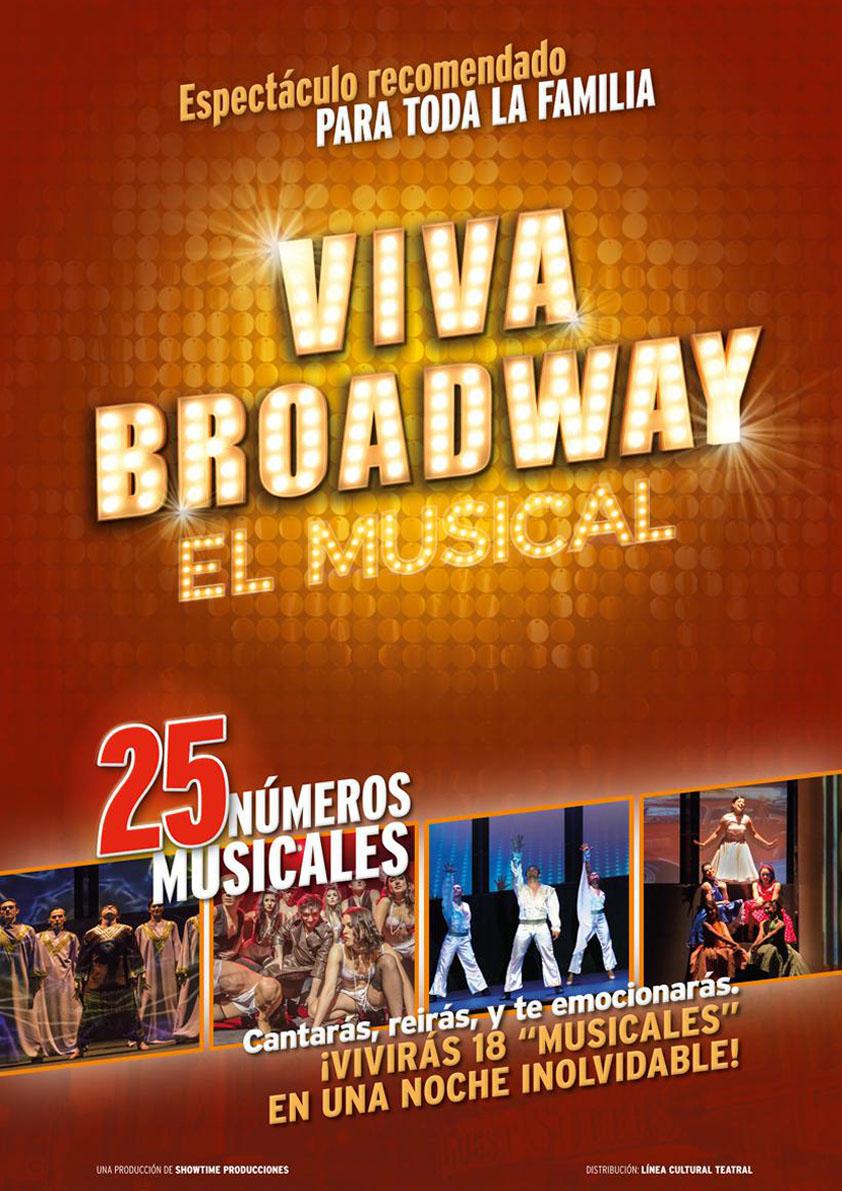 Viva broadway teatre musical Atrapalo conciertos madrid